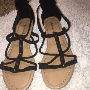 American outfitter sandals size8 half women's